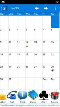 Calendar 2015 UK poster