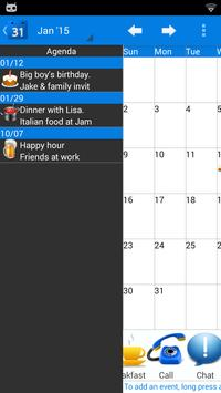 Calendar 2015 UK screenshot 2