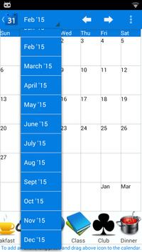 Calendar 2015 UK screenshot 3