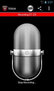 Voice Memos screenshot 1