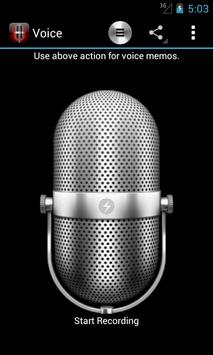 Voice Memos screenshot 2