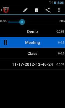 Voice Memos screenshot 5