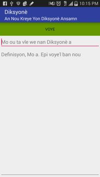 Diksyone apk screenshot