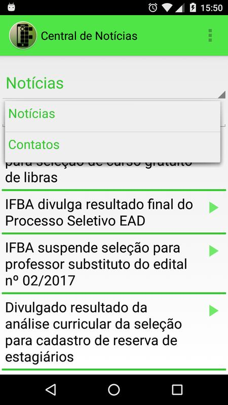 Alô Alô IFBA poster Alô Alô IFBA screenshot 1 ...
