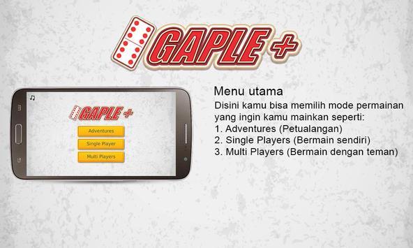 Gaple Plus ( Game Gaple Online Indonesia Terbaru) poster