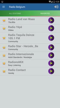 Radio Belgium screenshot 1