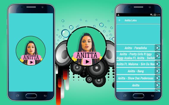 Anitta Letra Songs poster