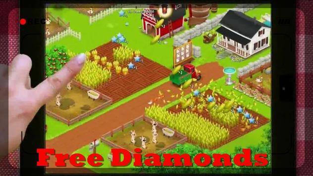 Unlimited Diamond Hay Day(HD) apk screenshot
