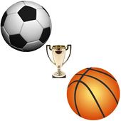 Football v Basketball icon