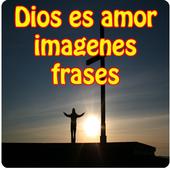 Dios es amor imagenes frases icon