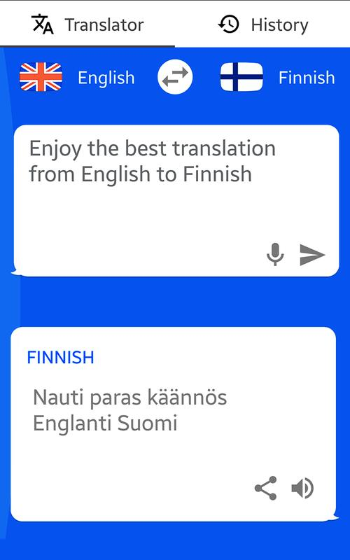 finnish to english translation