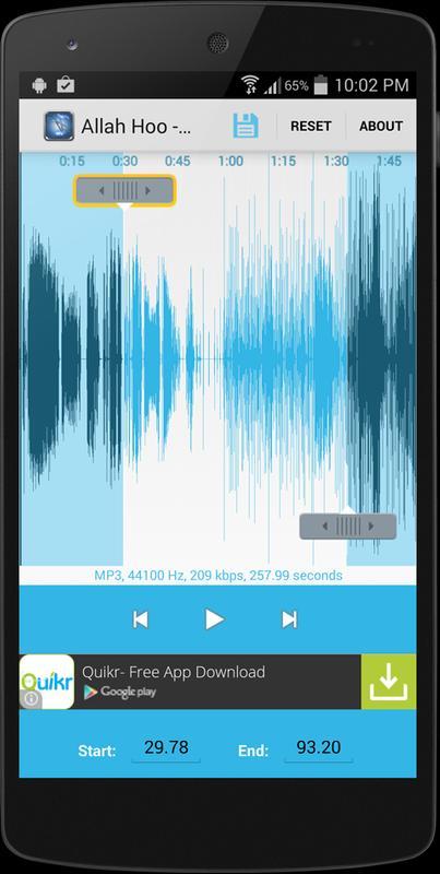Online MP3 Cutter - Cut or trim audio files