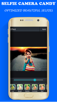Selfie Candy Camera screenshot 1