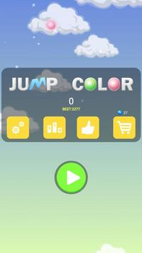 Jump Color - fresh nice flying poster