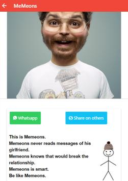 MeMeons - Your MeMe-On-s apk screenshot