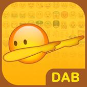 Dab Emoji Keyboard - Emoticons icon