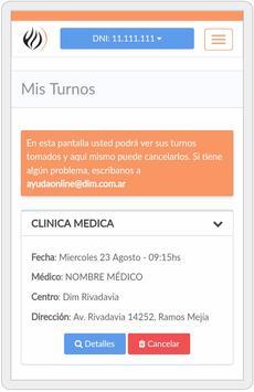 DIM TURNOS ONLINE apk screenshot