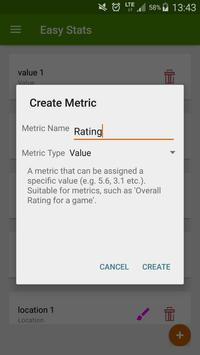 Easy Stats screenshot 1
