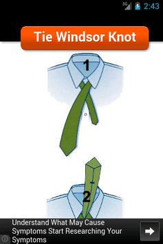 Tie Windsor Knot apk screenshot