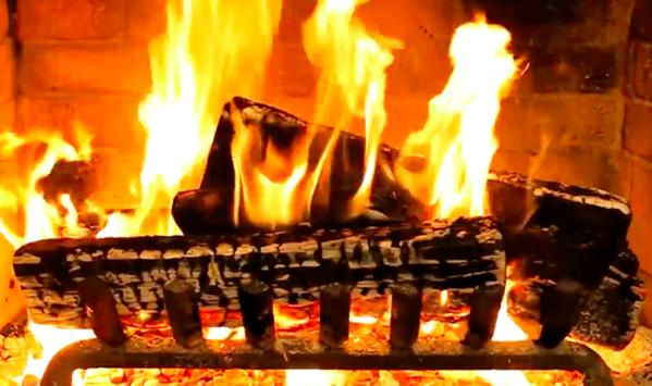 Virtual Fireplace poster