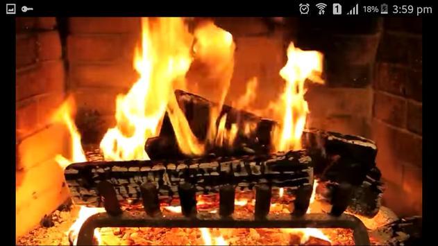 Virtual Fireplace apk screenshot