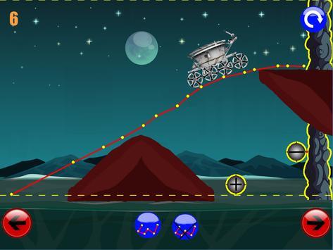 физическая игра головоломка : луноход 2 screenshot 3
