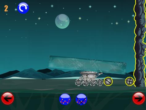 физическая игра головоломка : луноход 2 screenshot 1