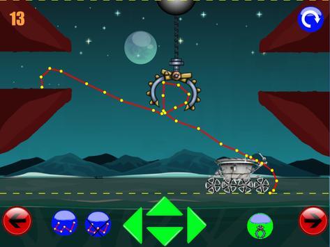 физическая игра головоломка : луноход 2 screenshot 20