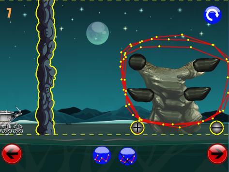 физическая игра головоломка : луноход 2 screenshot 4
