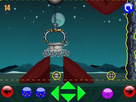 физическая игра головоломка : луноход 2 screenshot 6