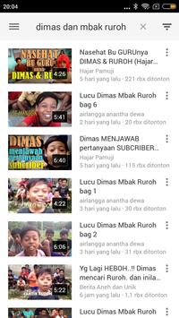Dimas & Mbak Ruroh Lucu screenshot 2