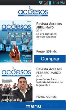 Revista Accesos poster