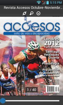 Revista Accesos apk screenshot