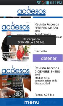 Revista Accesos screenshot 1