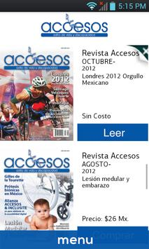 Revista Accesos screenshot 2