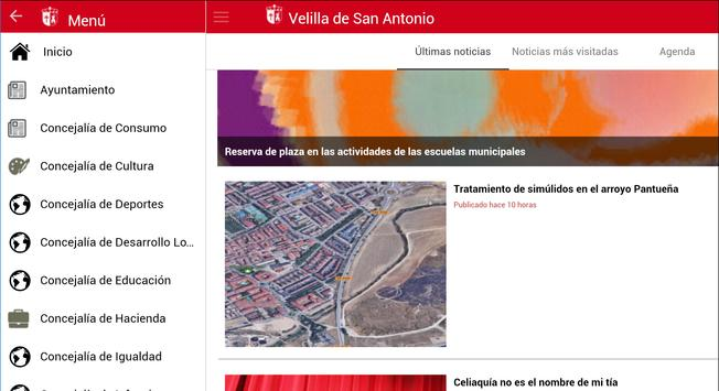 App Velilla de San Antonio screenshot 9