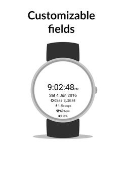 Athletica WatchFace Free apk screenshot