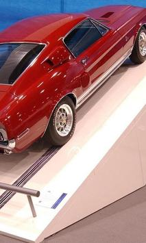Puzzles Ford Mustang Shelby poster