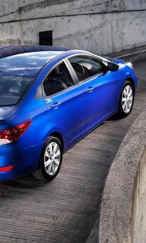 Jigsaw Puzzles Hyundai Accent poster