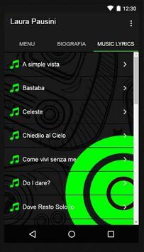 Laura Pausini Music Lyrics screenshot 1