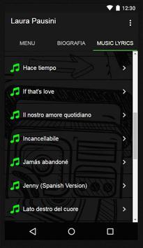 Laura Pausini Music Lyrics screenshot 2