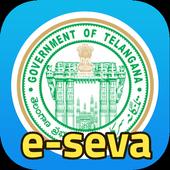 తెలంగాణ E-Seva - Quick TS Online Services icon