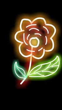 Glowy poster
