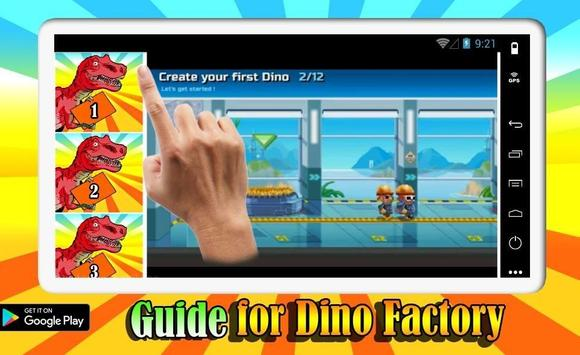 Guide For Dino Factory screenshot 2