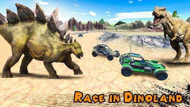 Dino World Car Racing apk screenshot