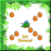 Dinosaur Egg Drop icon