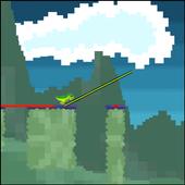 Dinosaur Pixel Stick icon
