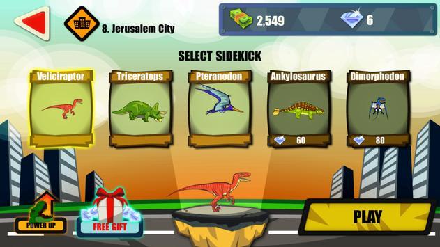Jurassic Dinosaur: City rampage syot layar 9
