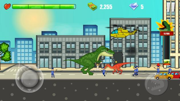 Jurassic Dinosaur: City rampage screenshot 6