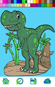 Dinosaur Coloring apk screenshot